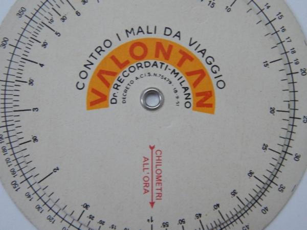 1950s Ferrari Average Speed Counter