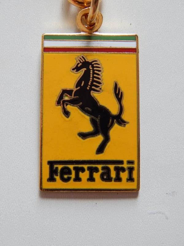 Ferrari 1950s Keyring
