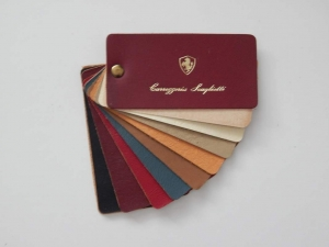 Ferrari Carrozzeria Scaglietti 1960/70s Leather Sample Swatch