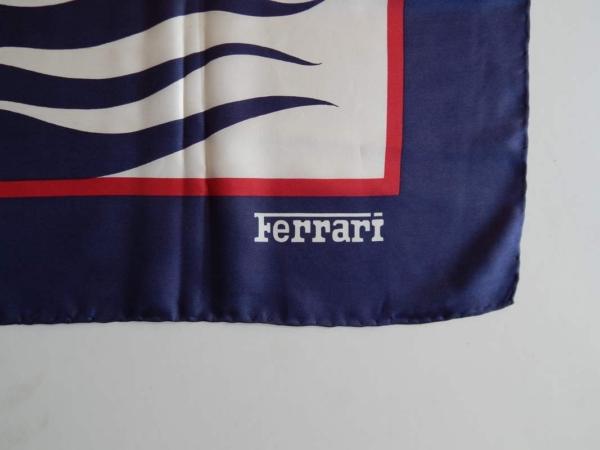 Ferrari 1960s Ladies Silk Scarf