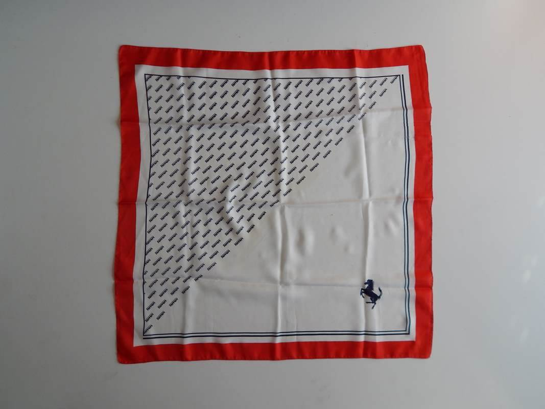 Ferrari 1960s Ladies Silk Scarf
