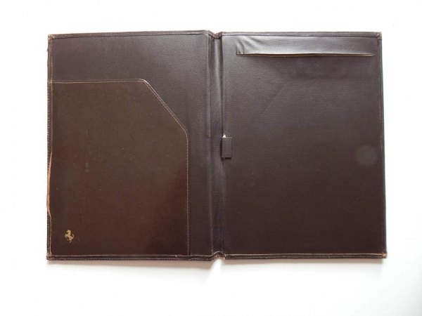 Ferrari 1970/80s Cavallino Document Wallet Organiser 308 365 512