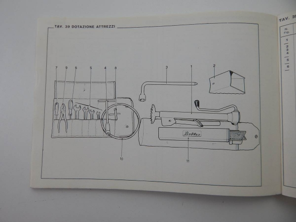 Ferrari Dino 1970 Spare Parts Manual