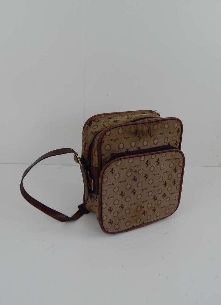 Ferrari 1970's Cavallino Small Travel Luggage Bag