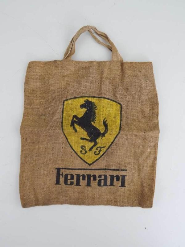 Ferrari 1960/70s Raglan Shopping Bag