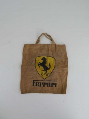 Ferrari 1960/70s Raglan Shopping Bag