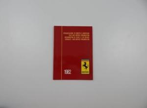 Ferrari 1982 Dealer Directory