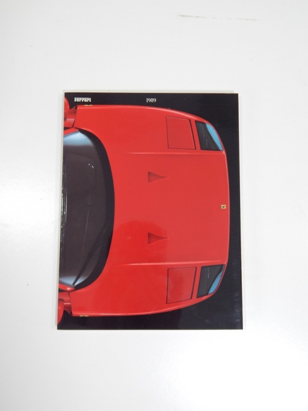 1989 Ferrari Yearbook Annuario