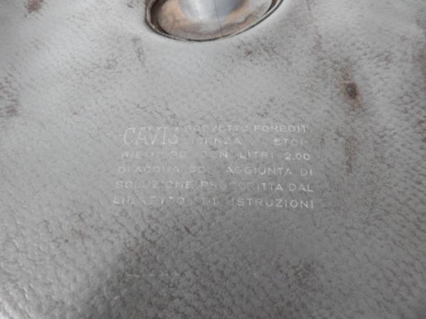 Ferrari 250 275 330 Cavis Washer Fluid Bag