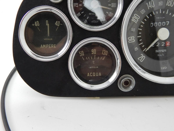 Ferrari 250 Instrument Cluster with Gauges