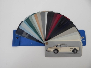 Ferrari 250 GT Coupe 2+2 (GTE) Paint Sample Swatch