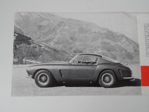 Ferrari 250 Granturismo Berlinetta (SWB) Sales Brochure
