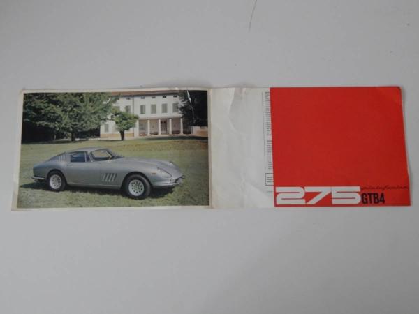 Ferrari 275 GTB/4 Sales Brochure