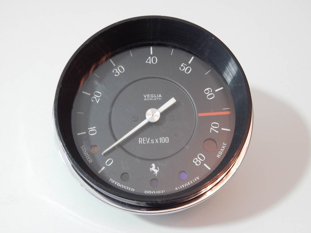 Ferrari 275 330 Veglia Borletti Rev Counter Tachometer