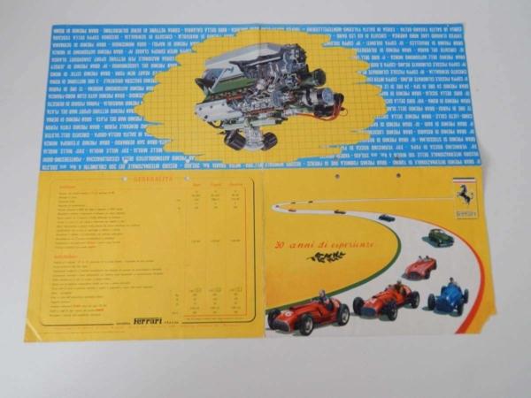 Ferrari 30 Anni Di Esperienze Sales Brochure