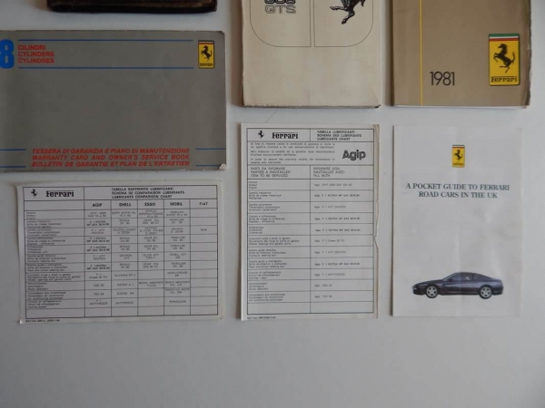 Ferrari 308 Complete Pouch Set