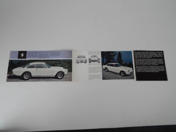 Ferrari 330 GT Sales Brochure