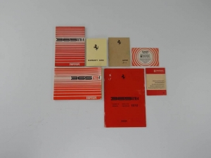 Ferrari 365 GTB/4 Daytona Manual Set