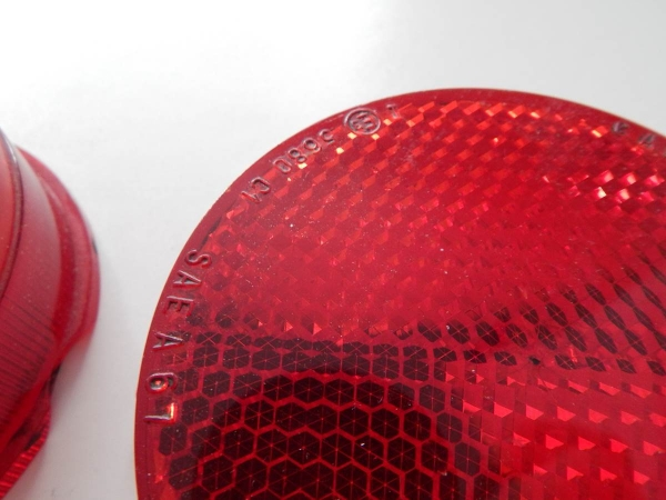 1970/80s Ferrari Carello Rear Reflectors