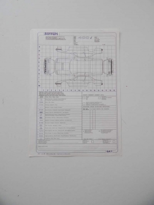 Ferrari 400i Repair Sheet