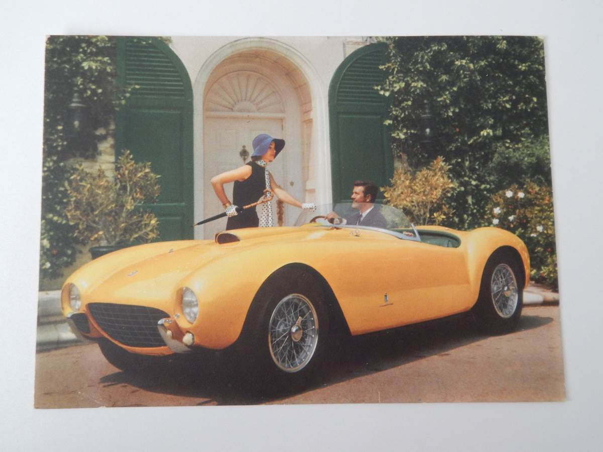 Ferrari 410 Superamerica (410 SA) 375 MM Postcard
