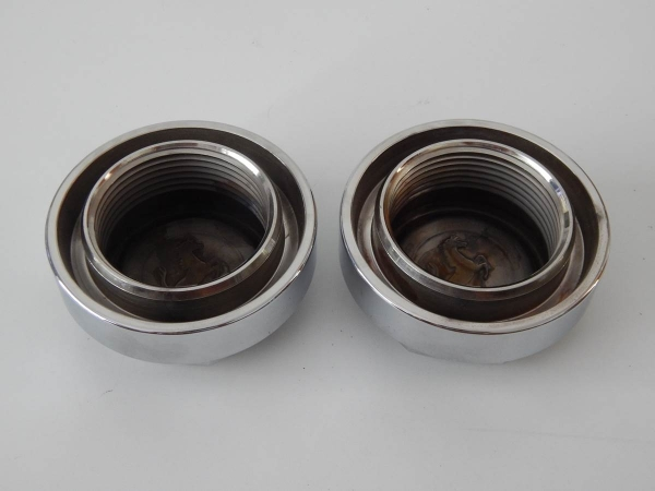 Ferrari 365 512 Testarossa 42mm Borrani Octagonal Wheel Nut Pair