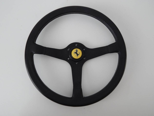 Ferrari Testarossa Boxer Mondial & 308 QV MOMO Steering Wheel with Horn Button