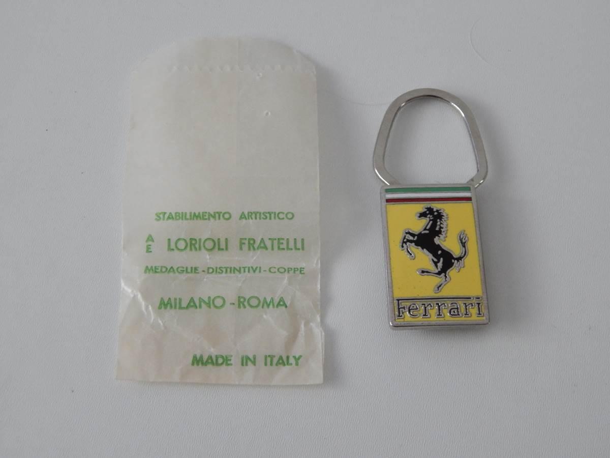 A.E. Lorioli Ferrari Key Fob & Packet