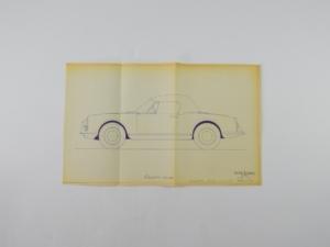 Alfa Romeo Giulietta Spyder Blueprint