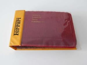 1980s Ferrari Carpet Sample