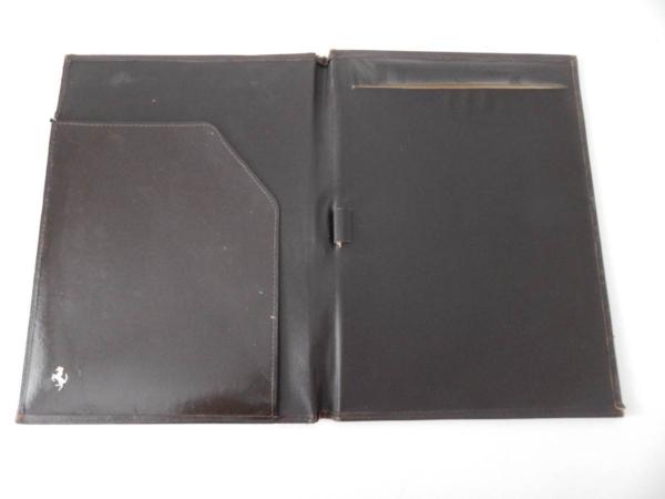 Ferrari 1970/80s Cavallino Document Wallet Organiser 308 365 512
