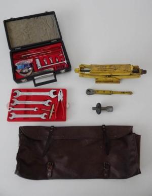 Complete Ferrari 365 Briefcase Tool & Jack Kit
