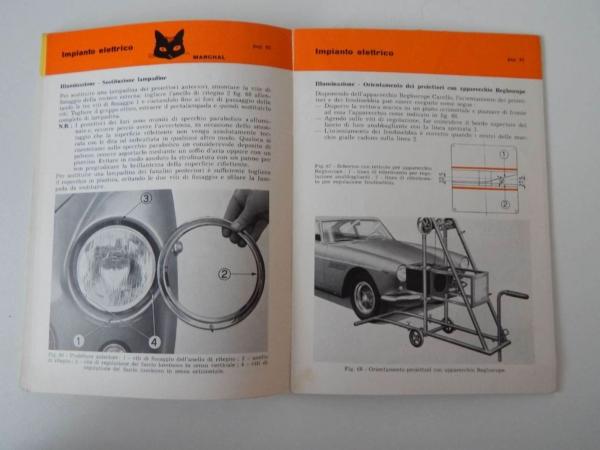 Ferrari 250 Pouch & Owners Manual