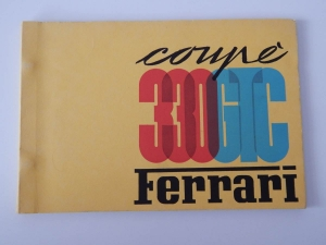 Ferrari 330 GTC Parts Manual