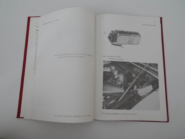 Ferrari 365 GTB/4 Daytona Chassis Service Abstract Manual