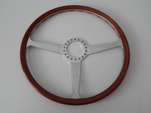 Reproduction Ferrari 365 GTB/4 Daytona 40cm Wooden Steering Wheel