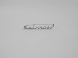 DeTomaso Rear Script Badge Emblem