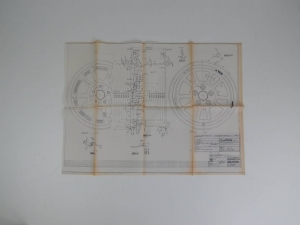 DeTomaso Pantera Wheel Blueprint