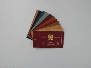 Ferrari 1960s Connolly Leather Sample Swatch