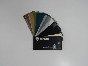 Ferrari 1970s Paint Sample Swatch