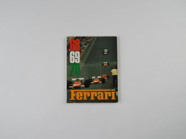 Ferrari 1968/69/70 Yearbook Annuario
