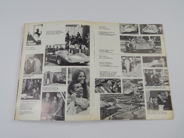 Ferrari 1968/69/70 Yearbook Annuario