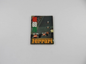 Ferrari 1968/9/70 Yearbook Annuario