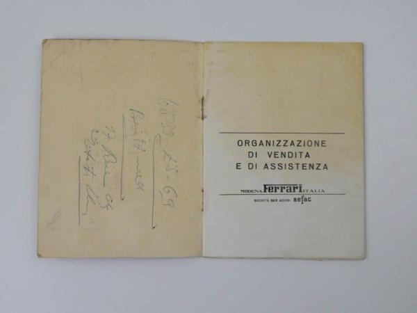 Ferrari 1969 Dealer Directory