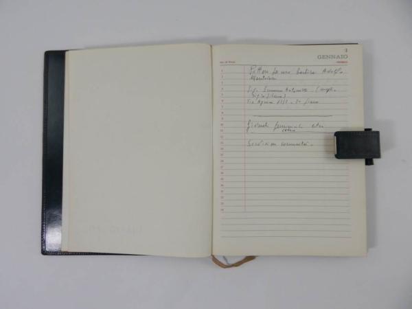 Ferrari 1971 Agenda Diary