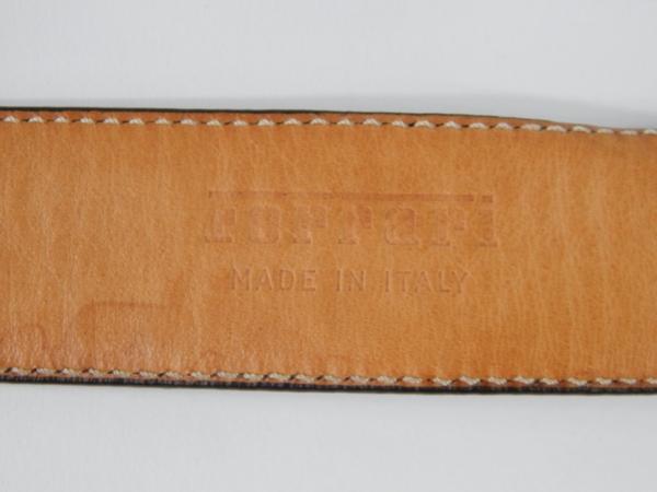 Ferrari 1980s Cavallino Print Italstyle Belt Cintura
