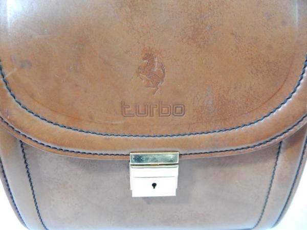 Ferrari 208 Turbo Complete 3 Piece Schedoni Leather Luggage Set