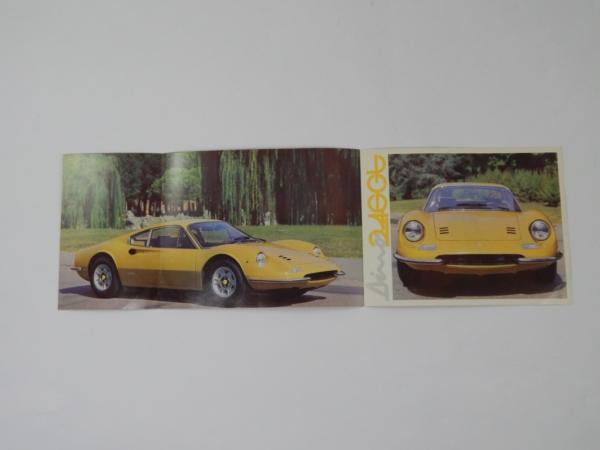 Ferrari 246 Dino GT Sales Brochure