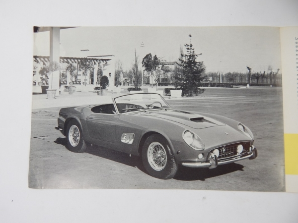 Ferrari 250 California Spyder Sales Brochure French