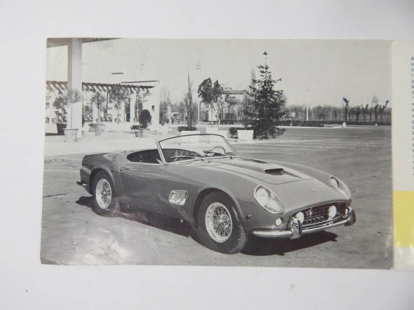 Ferrari 250 California Spyder Sales Brochure Italian
